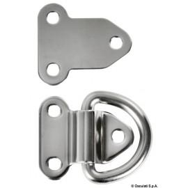 Demi-anneau rabattable électropoli 6 mm  39.868.06