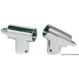 Raccord T 60° 22mm avec œil  41.107.00