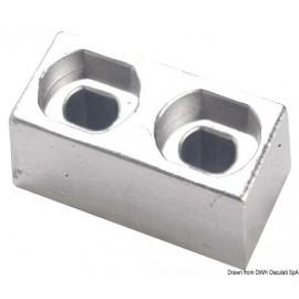 Anode plaque zinc 55/225 HP  43.272.30
