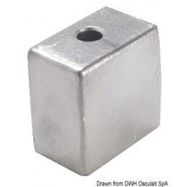 "Anode pied aluminium 50/200 HP Ø 3/8"" x 16  43.317.11"
