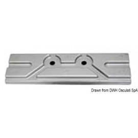 Anode plaque zinc pour  Mercury/Mariner 150 HP  43.434.30