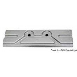 Anode plaque aluminium pour Mercury/Mariner 150 HP  43.434.31