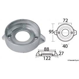 Anode collier magnésium pour Sail Drive Ø 97 mm  43.529.11