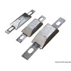 Anode rectangulaire avec encoche 127x60x25 mm  43.907.03
