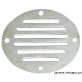 Prise air circulaire inox 83mm  53.216.90