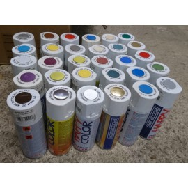 Lot 30 bombes peintures
