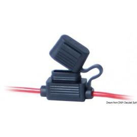 Porte-fusible à fiche étanche equipés de 2 câbles  14.115.19