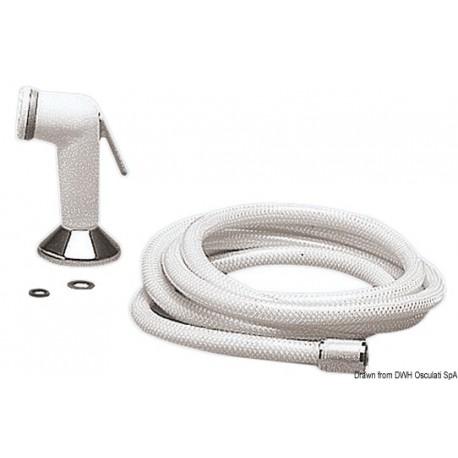 Douchette Utility téléphone tuyau PVC 2,5 m Support de pont 15.256.00