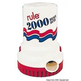 Pompe immergée Rule 2000 12 V  16.115.60