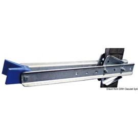 Support d'étrave réglable, universal 645 mm  02.057.07