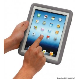 Protection imperméable gris pour 2/3/4 iPad  23.402.04