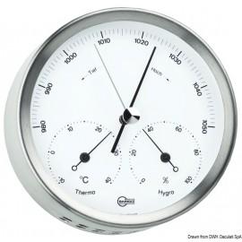Baro/thermo/hygrométre Barigo Steel  28.080.01