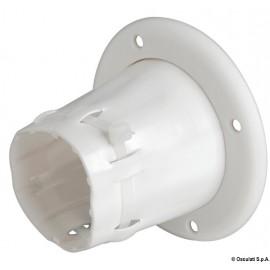Passe-câble noir en PVC   03.407.01