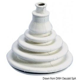 Soufflet passe-câbles en caoutchouc blanc  03.412.02