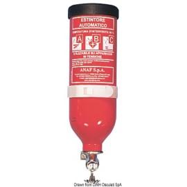 Extincteur à pluie de poudre cylindrique 1 kg  31.515.01