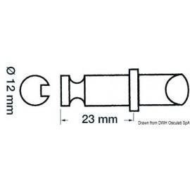 Dame nage laiton chromé p. canot Bat/Lomac  34.430.12