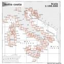 Cartographie NAVIMAP 1:100,000 pour navigation côtière